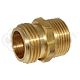 "Hose Adapter 3/4"" NPT Male to 3/4"" GH Male"