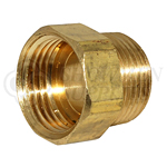 """Hose Adapter 3/4"""" NPT Male to 3/4"""" GH Female"""