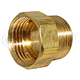 "Hose Adapter 3/4"" NPT Male to 3/4"" GH Female"