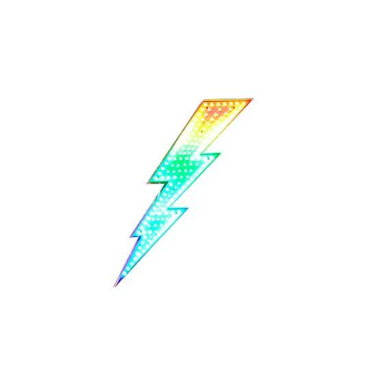 Lightning Bolt LED Sign - 3 Feet Tall