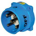 Meltric 33-68167 Inlet/Plug 60A