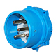 Meltric 33-98167 Inlet/Plug 100A