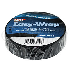 """Electrical Tape - 3/4"""" x 60 Ft- Black"""