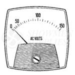 Voltmeter AC 0-300 Volts