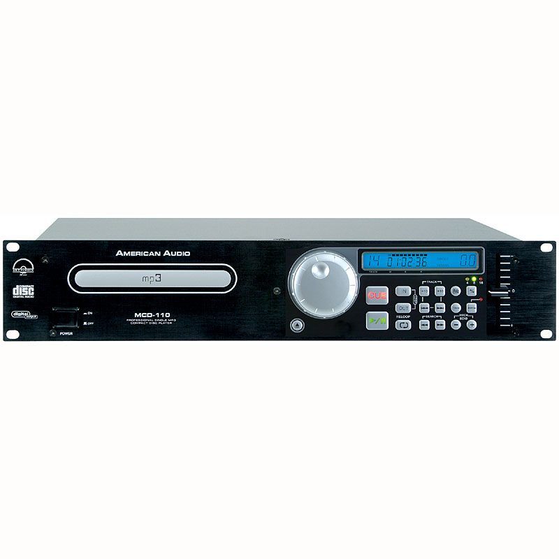 American Audio Pro Single Bay MP3/CD Player