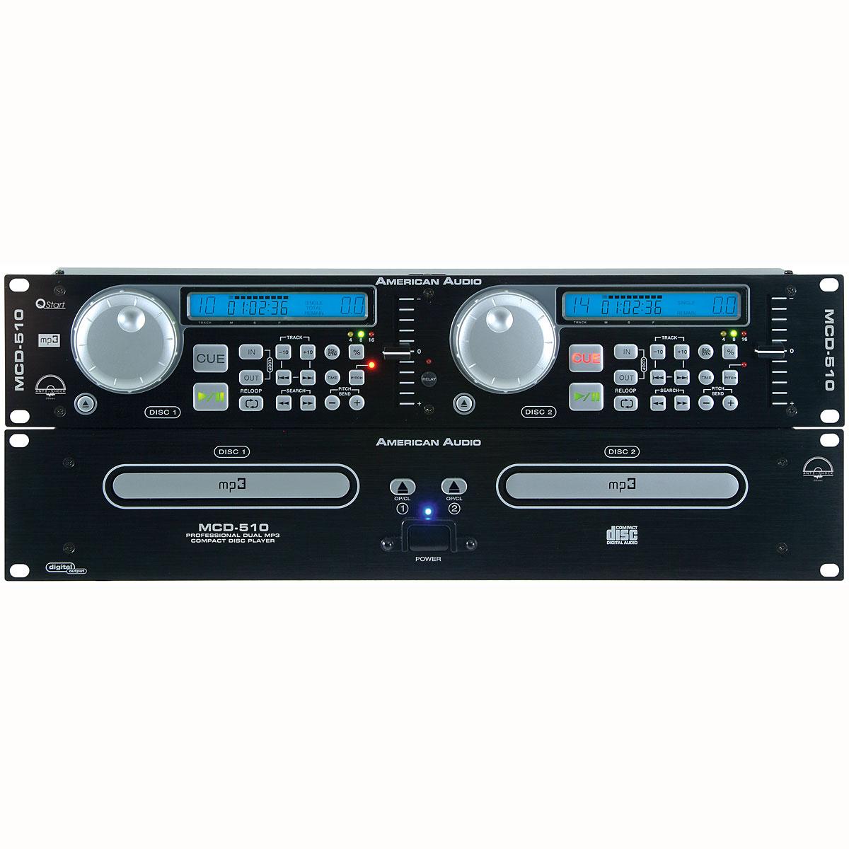 American Audio Pro Dual Bay CD/MP3 Player