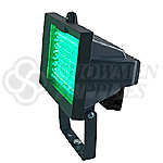 LED Floodlight Fixture with Mounting Bracket-Green
