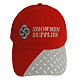 Showmen Supplies Diamond Plate Hat