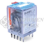 Control Relay 10A 24VAC 14P Plug-in