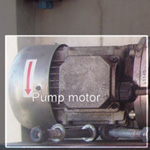 Motor For Gond Brake Hyd Sys INV12/SPD08