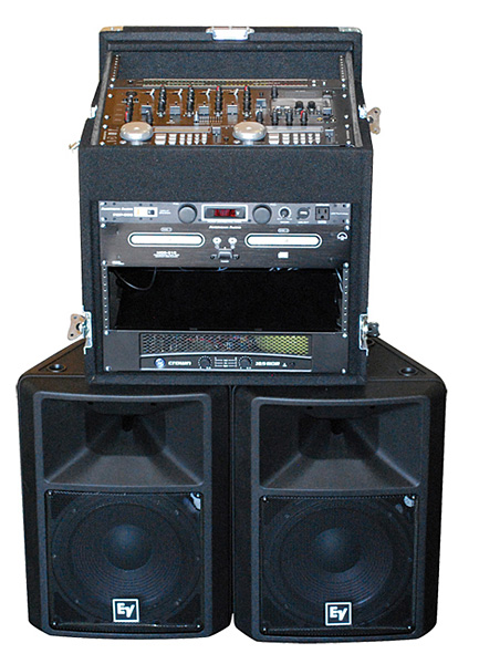 Sound System 1 - Rackmount  Audio System