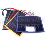 Zippered Nylon Money Bags