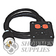 Utility Power Distro Cable w/ L14-20 Inlet Plug
