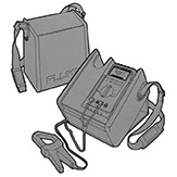 Fluke hard shell case for meter